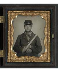Unidentified Soldier in Union Rifleman U... by Library of Congress