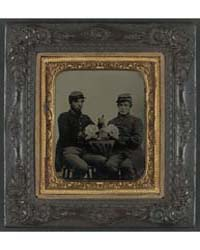 Two Unidentified Soldiers in Union Unifo... by Library of Congress