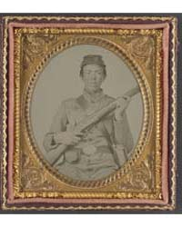 Unidentified Soldier of Co. H, 7Th Illin... by Library of Congress