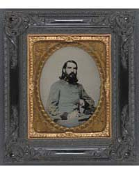 Unidentified Officer in the Confederate ... by Long, Enoch