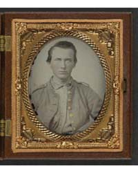 Unidentified Soldier in Confederate Unif... by Library of Congress