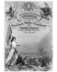 The Union Defenders Certificate in Suppo... by Bufford, John Henry