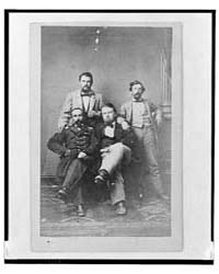 Four Unidentified Men Including at Least... by Library of Congress