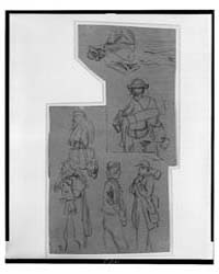 Seven Sketches of Soldiers and How They ... by Waud, Alfred R.