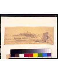 Stables and Negro Servants Tent, Hd.Qtrs... by Waud, Alfred R.