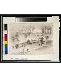 The Charge Across the Burnside Bridgeant... by Forbes, Edwin
