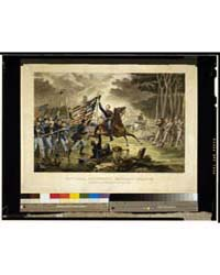 General Kearney's Gallant Charge, at the... by Russell, Andrew J.