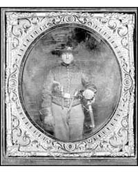 Unidentified Cavalry Soldier in Union Un... by Library of Congress
