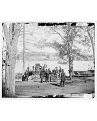 Washington, D.C. Guards at Ferry Landing... by Barnard, George N.