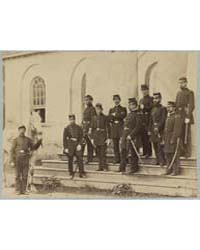 General Irvin McDowell and Staff at Arli... by Library of Congress