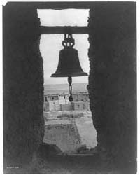The Old Bell Tower by Curtis, Edward S.
