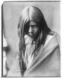 Zosh Clishn--apache by Curtis, Edward S.