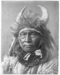 Bull Chief--apsaroke by Curtis, Edward S.