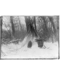 Winter--apsaroke by Curtis, Edward S.