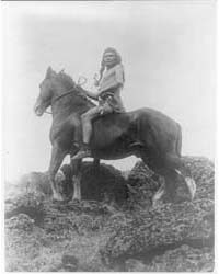 The Scout--nez Percé by Curtis, Edward S.