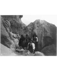 Among the Rocks--acoma by Curtis, Edward S.