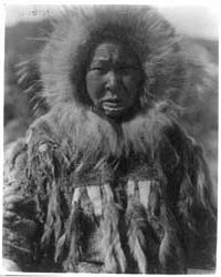 Nunivak Island, Alaska: Baninaguh by Curtis, Edward S.