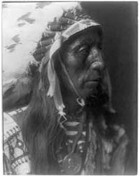 Jack Red Cloud--ogalala Sic by Curtis, Edward S.