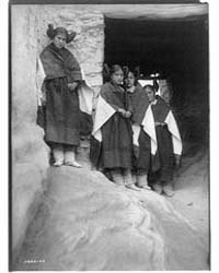 Walpi Maidens--hopi by Curtis, Edward S.