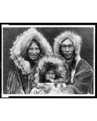 A Family Group--noatak by Curtis, Edward S.