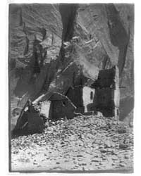 Antelope Ruin, Cañon Del Muerto--navaho by Curtis, Edward S.