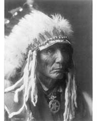 Calico - Oglala, Head-and-shoulders Port... by Curtis, Edward S.
