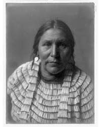 Hidatsa Woman by Curtis, Edward S.