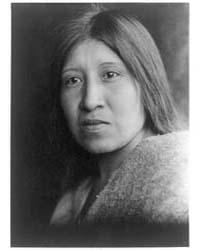 A Desert Cahuilla Woman by Curtis, Edward S.