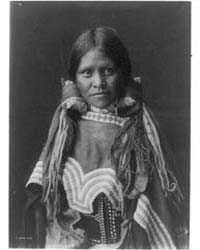 Jicarilla Girl by Curtis, Edward S.