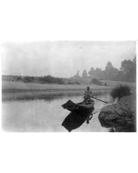 Hupa Fisherman by Curtis, Edward S.