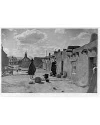 Street Scene--san Juan by Curtis, Edward S.