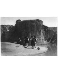A Morning Chat--acoma by Curtis, Edward S.