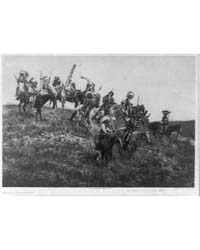 Oglala War Party by Curtis, Edward S.