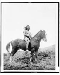 The Old-time Warrior--nez Percé by Curtis, Edward S.