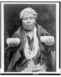 Hupa Female Shaman by Curtis, Edward S.