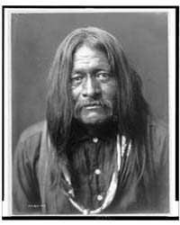 Hoo-man-hai, Maricopa Indian, Head-and-s... by Curtis, Edward S.