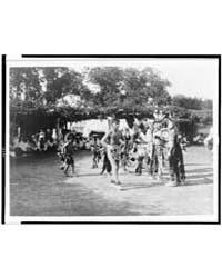 Skidi and Wichita Dancers by Curtis, Edward S.