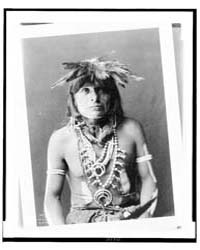 Tev Gui, a Snake Chief, Half-length Port... by Curtis, Edward S.