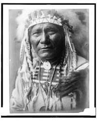 Ghost Bear, Crow Indian, Montana, Head-a... by Curtis, Edward S.