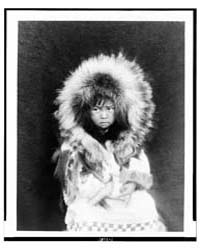 Noatak Child, Three-quarter Length Portr... by Curtis, Edward S.