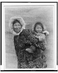 Woman and Child, Nunivak by Curtis, Edward S.