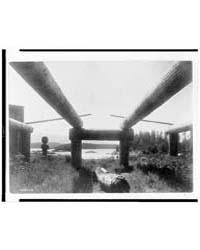 Kwakiutl House-frame, Memkumlis by Curtis, Edward S.