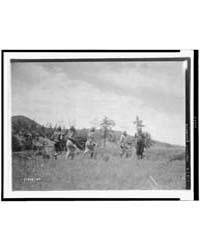 Apache Dancers by Curtis, Edward S.