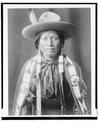 Jicarilla Cowboy by Curtis, Edward S.