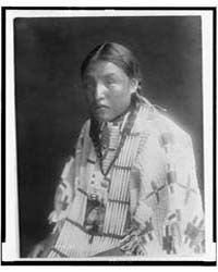 Red Elk Woman by Curtis, Edward S.