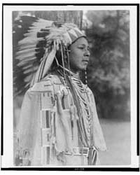 Youth in Holiday Costume-umatilla by Curtis, Edward S.