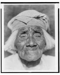 A Santa Ysabel Woman--diegueño by Curtis, Edward S.