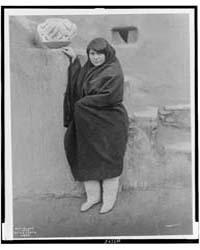 A Zuni Belle by Curtis, Edward S.