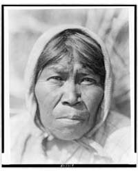 A Cupeño Woman by Curtis, Edward S.