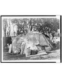 Klamath Tule Hut by Curtis, Edward S.